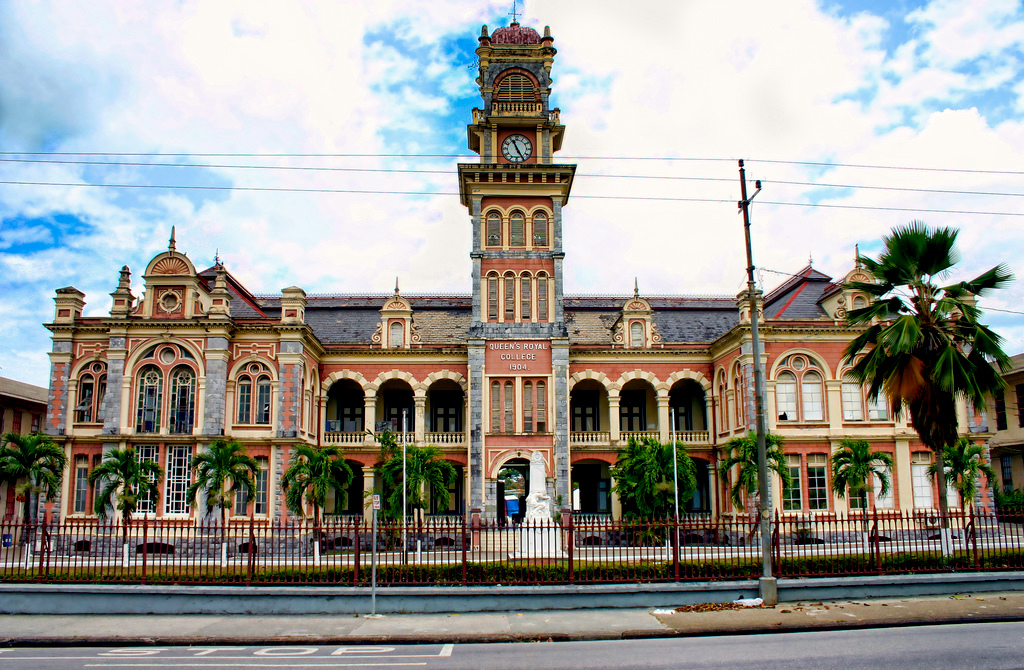 Queen's Royal College Port of Spain, A lesson in Port of Spain's Architectural History! | City Of Port ...