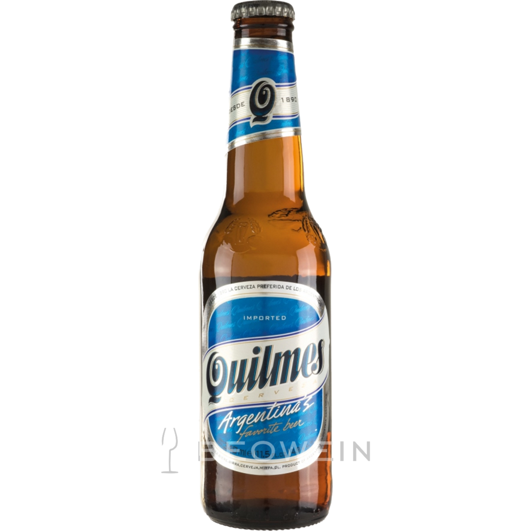 Quilmes Quilmes, Quilmes 0,34 l - beer from Argentina buy at beowein mail order