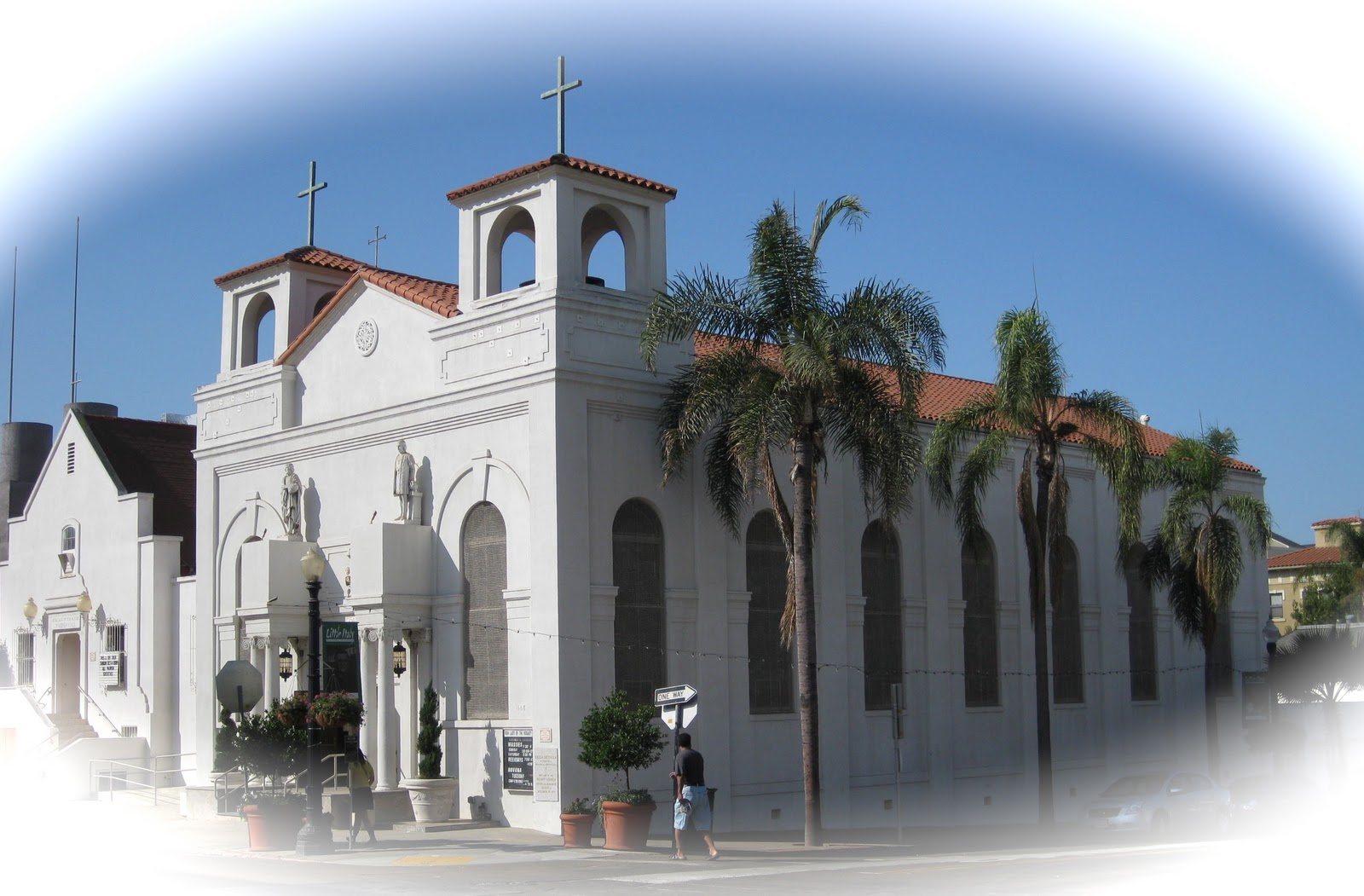 Quince Street Bridge San Diego, Fr. Steven M. Grancini, CRSP: Our Lady of the Rosary Catholic Church
