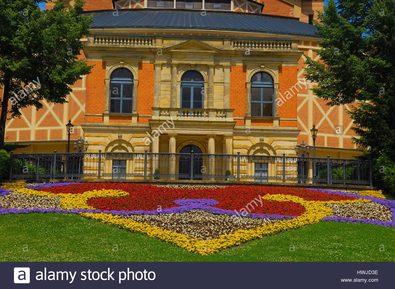 Römermuseum Kastell Boiotro Franconia and the German Danube, The Richard Wagner Festspielhaus In Bayreuth Stock Photos & The ...