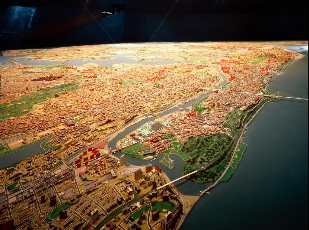 Red Hook Flicks New York City, LaB} » NYC Panorama at the Queens Museum of Art