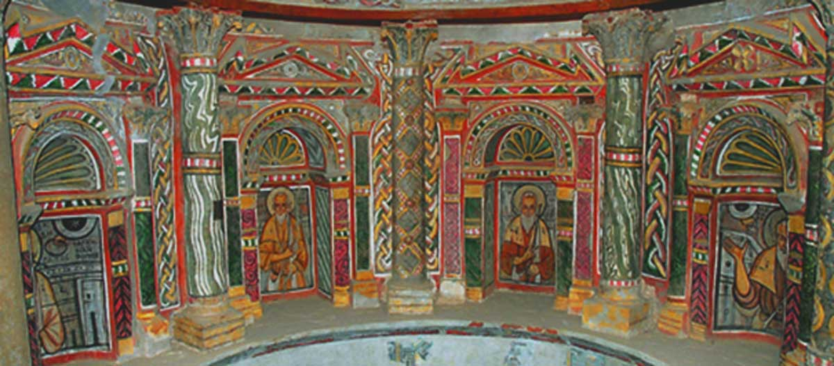 Red Monastery Sohag, The Red Monastery: Will the Last Byzantine Monument in Egypt ...