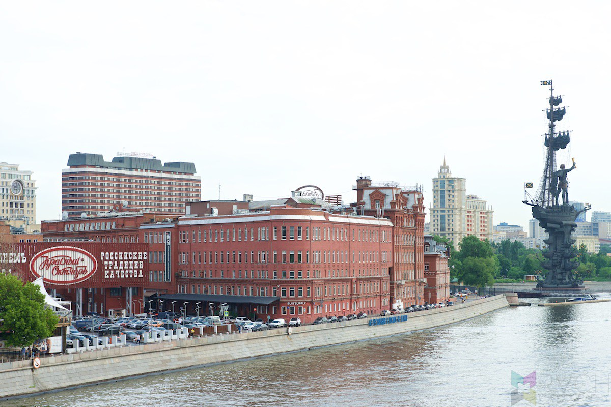 Red October Moscow, Moscow – Red October Chocolate Factory and Surrounds - RVCH ...