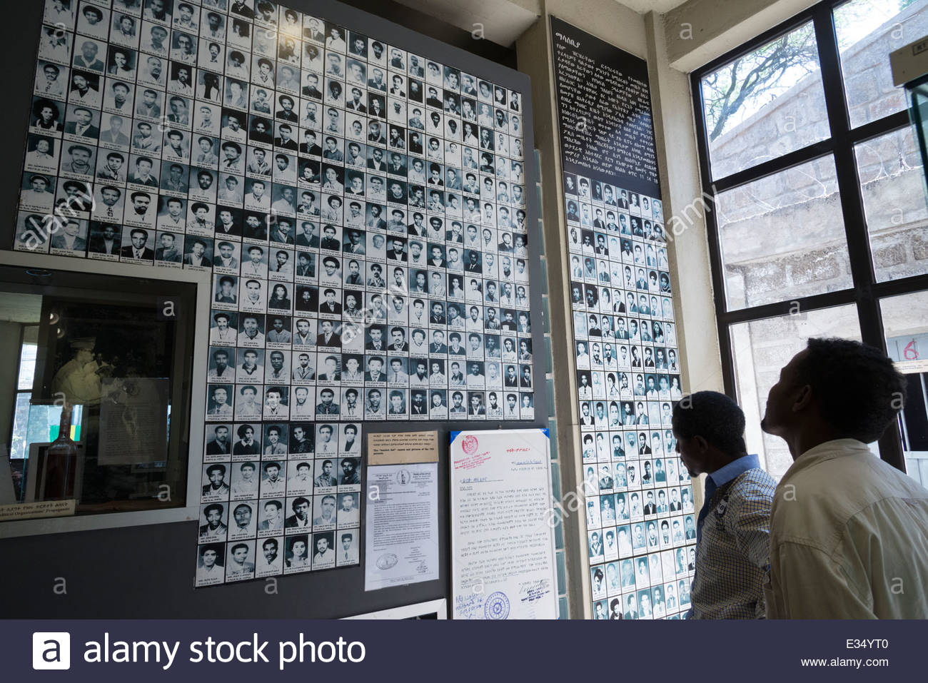 'Red Terror' Martyrs Memorial Museum Addis Ababa, Red Terror Martyrs memorial Museum. Addis Abeba. Ethiopia Stock ...