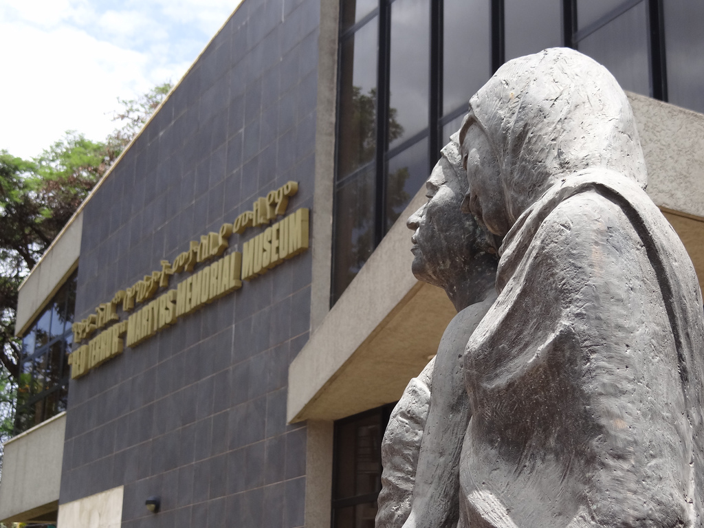 'Red Terror' Martyrs Memorial Museum Addis Ababa, Sculpture Outside Red Terror Martyrs' Memorial Museum - Ad… | Flickr