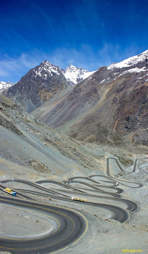 Refugio Lo Valdés Side Trips from Santiago, Beautiful Road Of The Day From Andes Mountains in Chile | Let's go ...