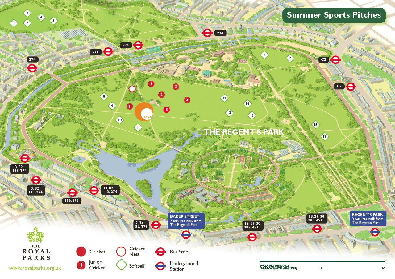 Regent's Park London, Training Spots London – Regent's Park | The Cycle Club