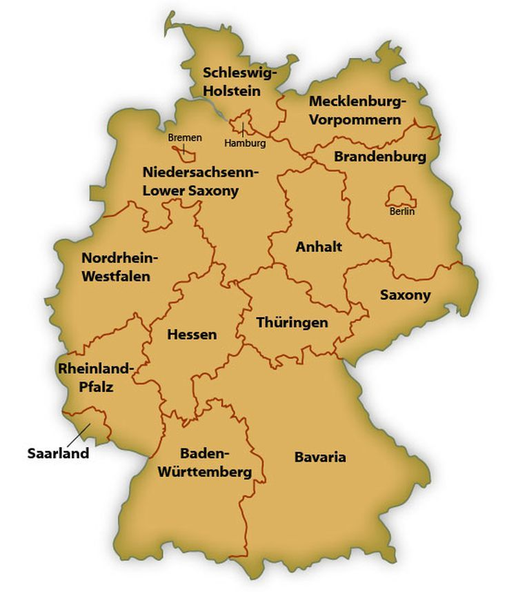 Regional and Button Museum Saxony, Saxony-Anhalt and Thuringia, 27 best Germany images on Pinterest | Germany, Maps and City maps