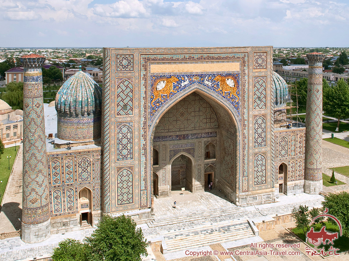 Registan Samarkand, The Registan Square and its Madrasahs, Samarkand, Uzbekistan