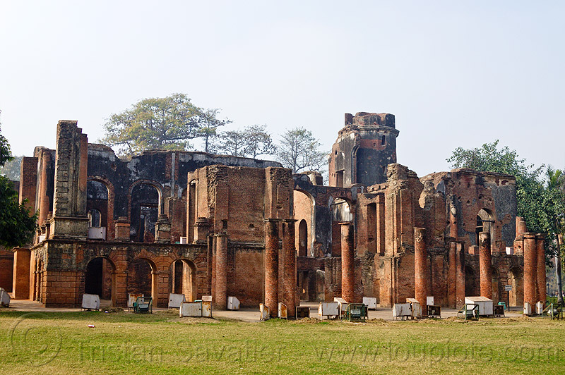 Residency Lucknow, residency ruins, lucknow, india