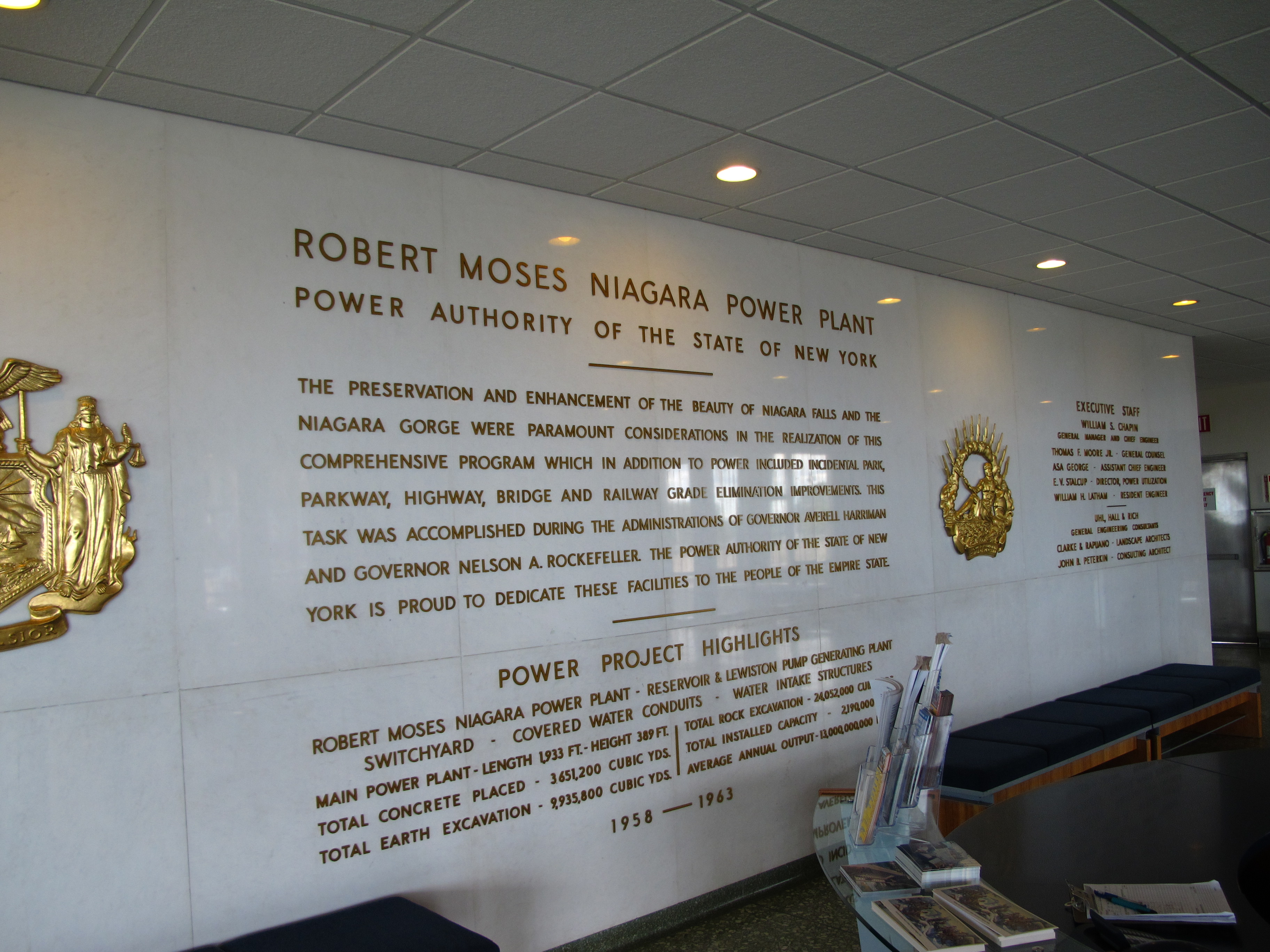 Roger Tory Peterson Institute of Natural History Niagara Falls and Western New York, Niagara Power Project Visitors Center, Niagara Falls and Western ...
