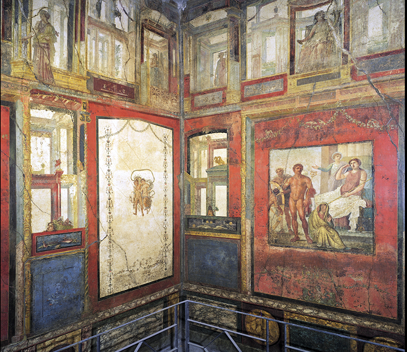 Roman Painted House The Southeast, Roman wall painting styles – Smarthistory