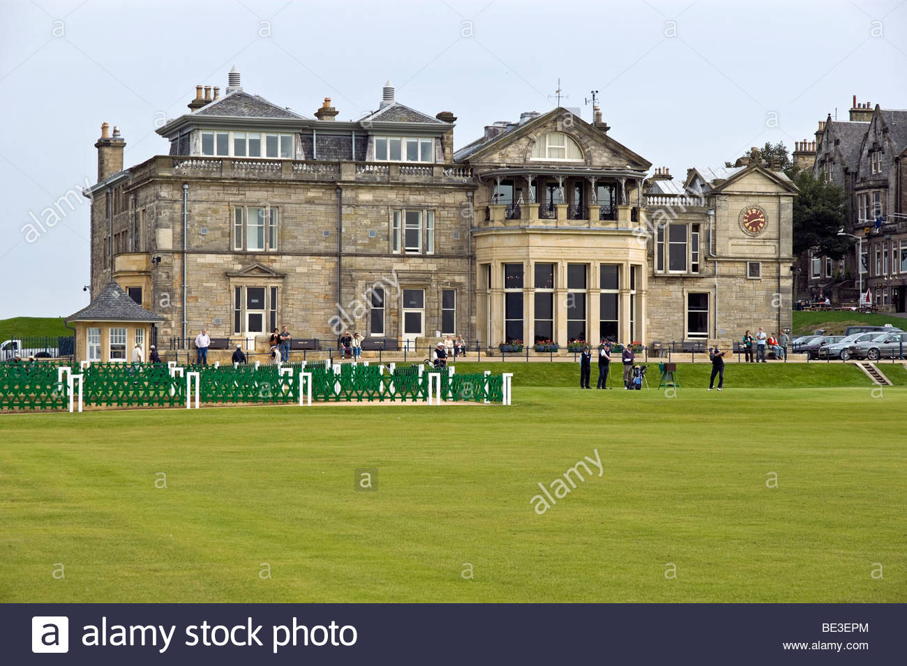 Royal & Ancient Golf Club of St. Andrews Fife and Angus, Famous Golfer Stock Photos & Famous Golfer Stock Images - Alamy