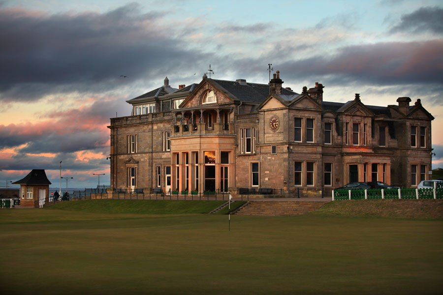 Royal & Ancient Golf Club of St. Andrews Fife and Angus, The Best Golf Clubhouse Architecture | St andrews scotland ...