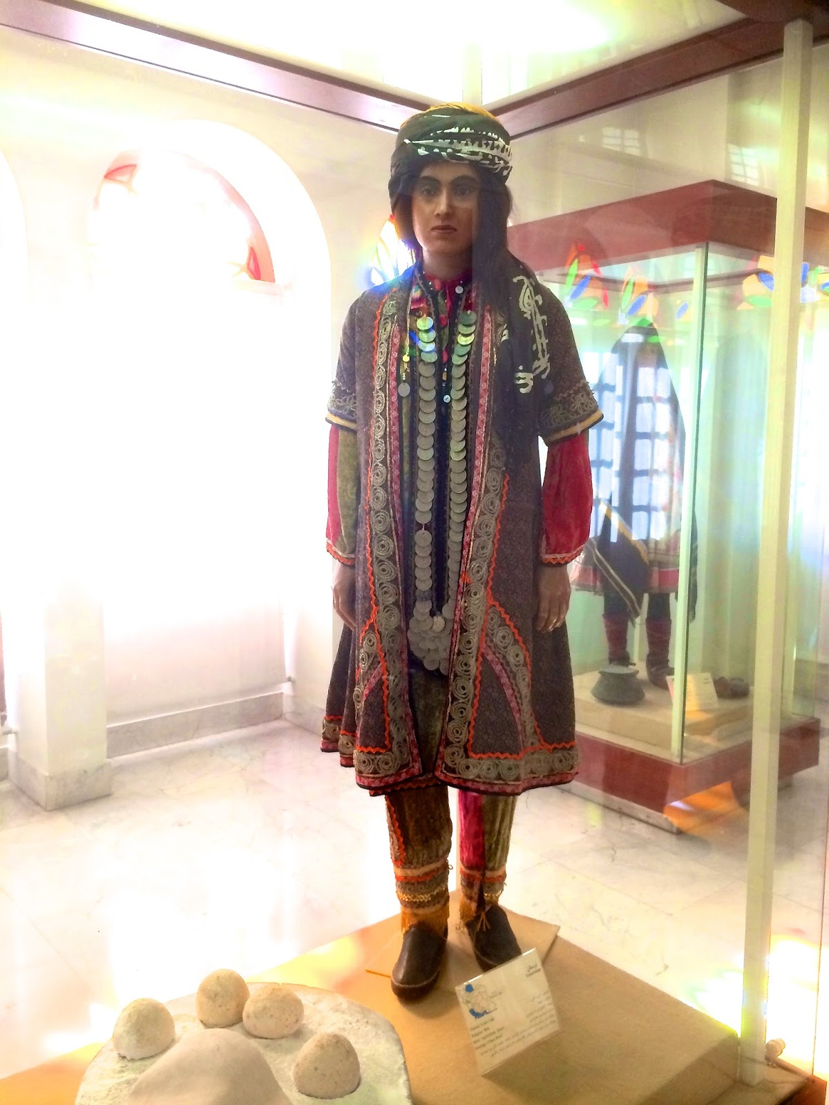 Royal Costume Museum Tehran, Kakh-e Abyaz (Ethnological Museum) at Golestan Palace, Tehran/Iran ...