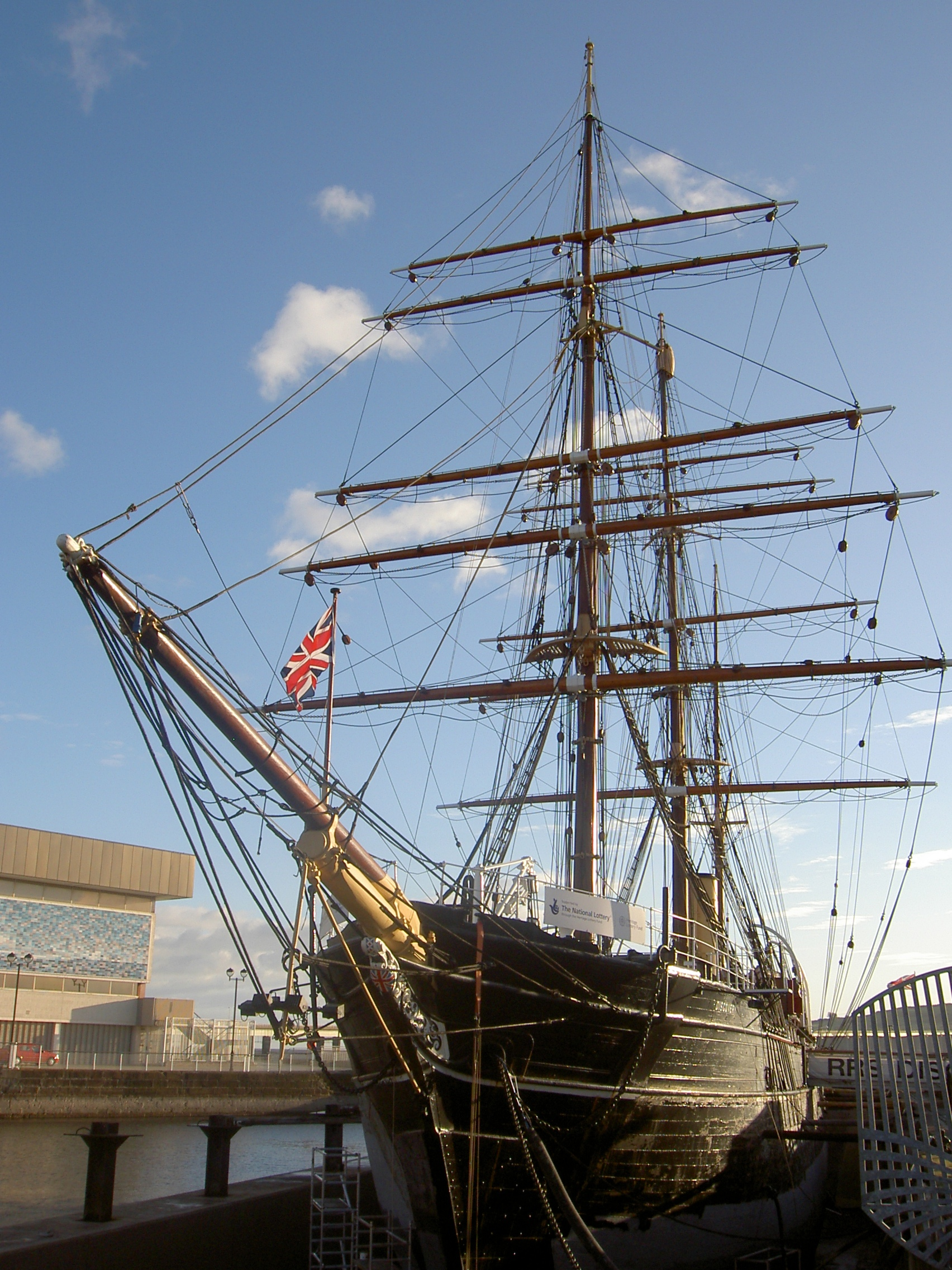 RRS Discovery Fife and Angus, RRS Discovery, Dundee, Scotland | sailing | Pinterest | Dundee ...