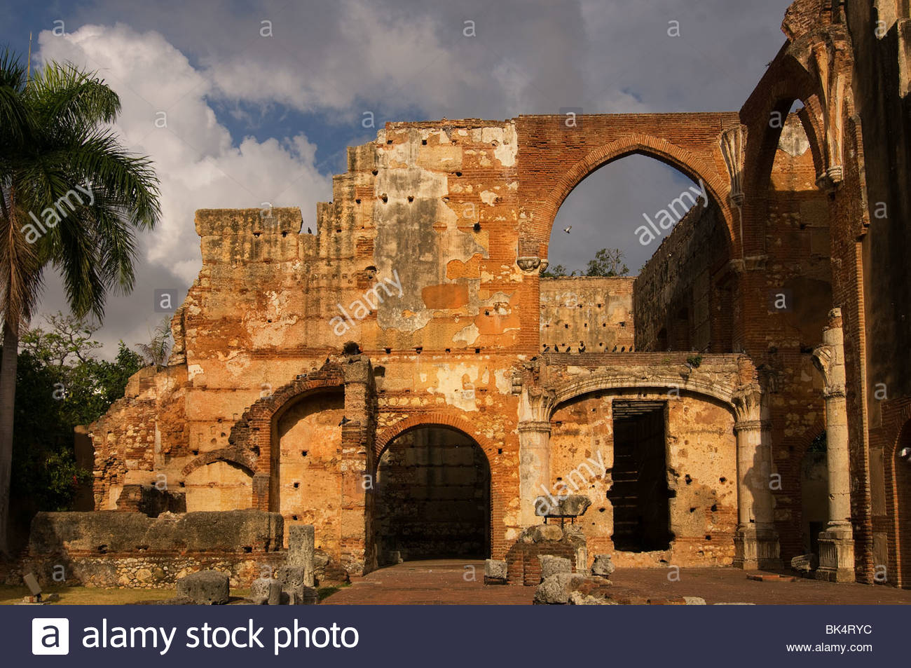 Castell de Sant Ferran Catalonia, Valencia, and the Costa Blanca, Ruins of the Hospital San Nicolas de Bari in the Zona colonial ...