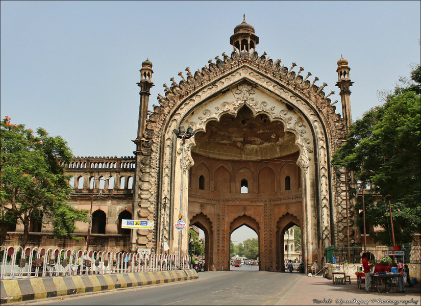 Rumi Darwaza Lucknow, Beat the Heat - Short PhotoLog of Lucknow Ride | India Travel ...