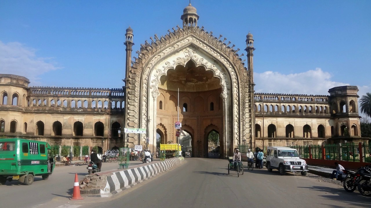 Rumi Darwaza Lucknow, INCREDIBLE LUCKNOW | THE RUMI DARWAZA & HUSSAINABAD IMAMBARA ...