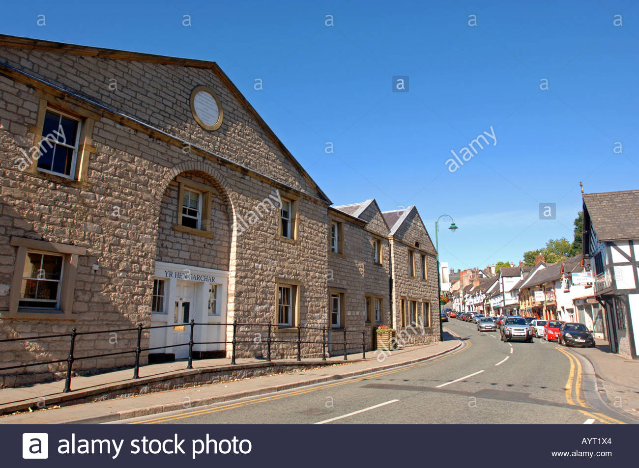 Ruthin Gaol North Wales, Rhuthun Gaol, Ruthin Jail, Clwyd North Wales Stock Photo, Royalty ...