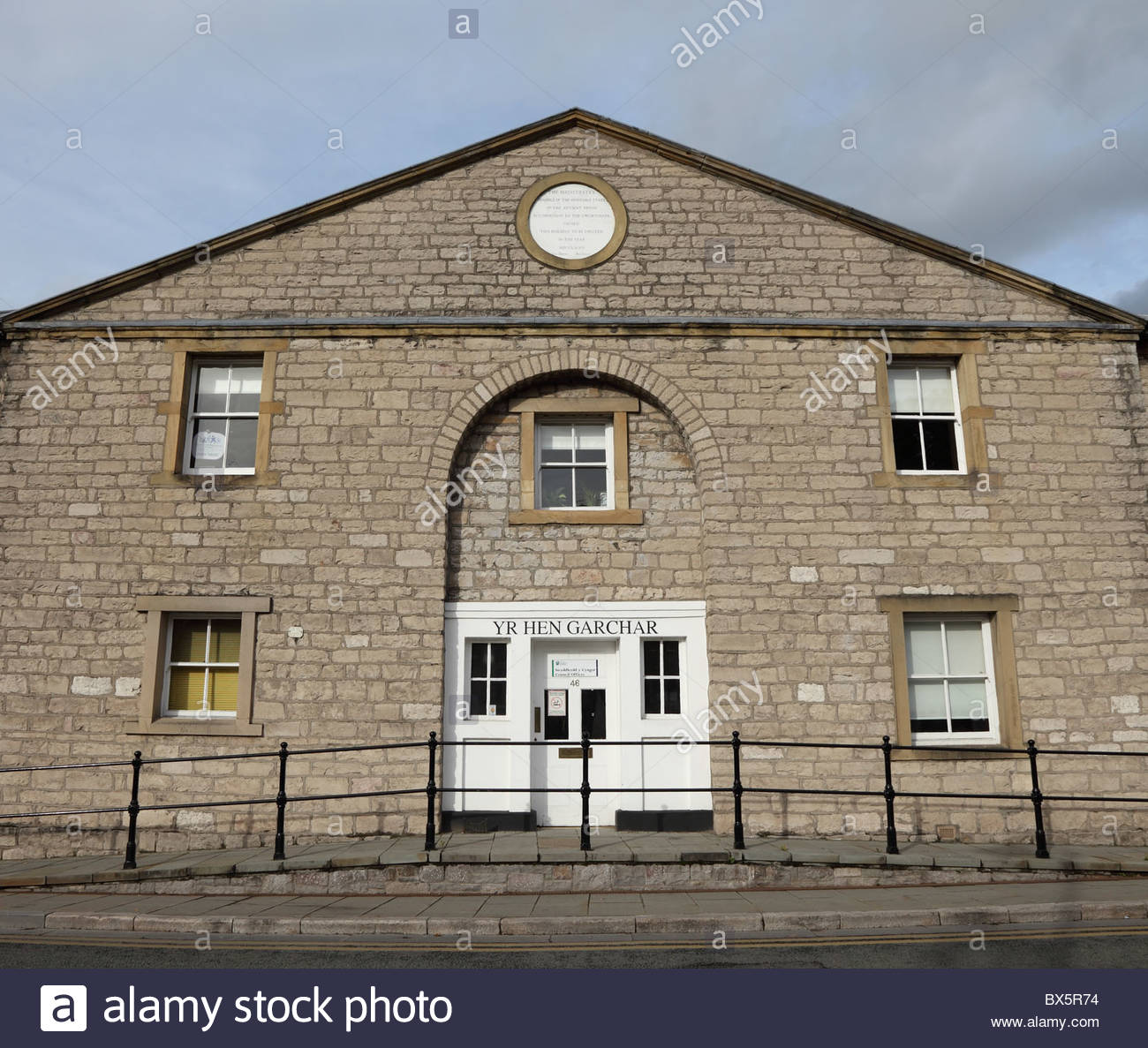 Ruthin Gaol North Wales, Ruthin Denbighshire North Wales gaol Stock Photo, Royalty Free ...
