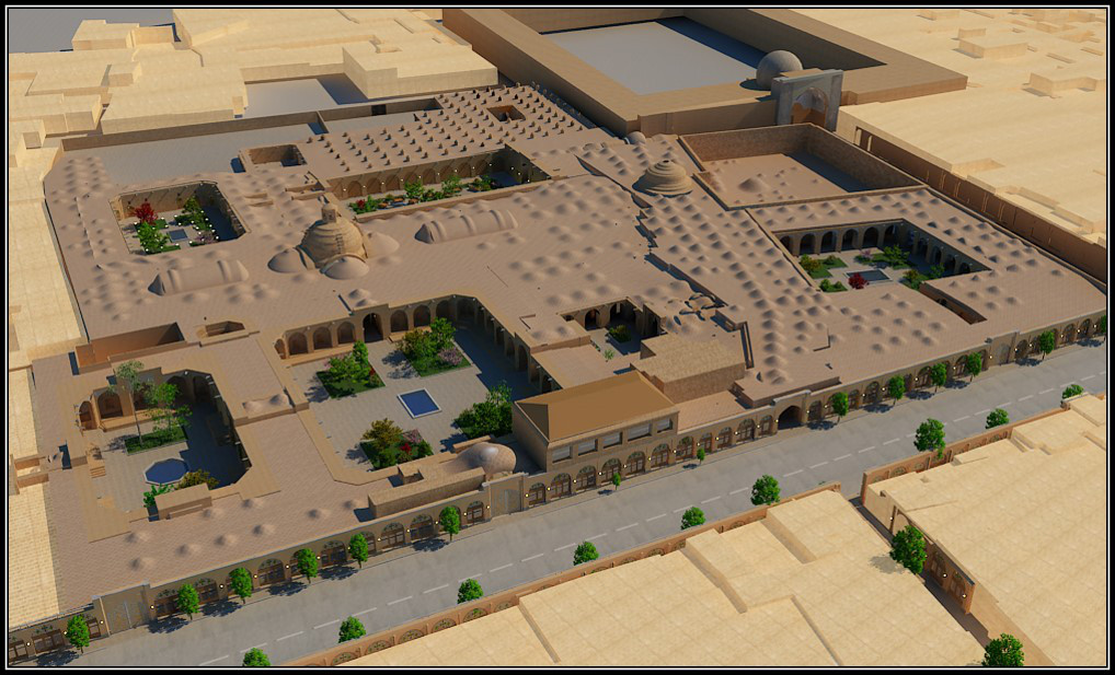 Sa'd-al Saltaneh Caravanserai Qazvin, Sustainable design the characteristic of historic architecture and ...