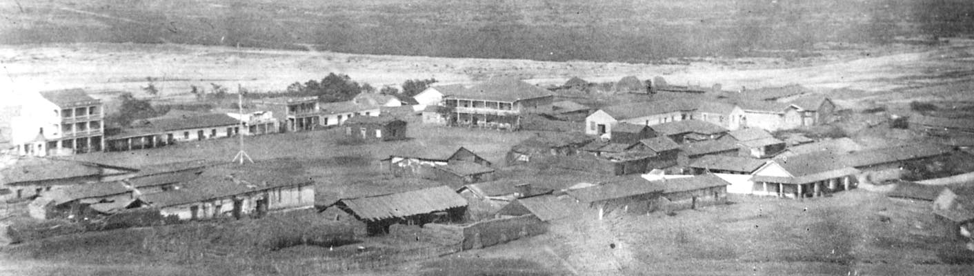 San Diego Chinese Historical Museum San Diego, Early photograph of Old Town (San Diego), c 1867, from Presidio ...