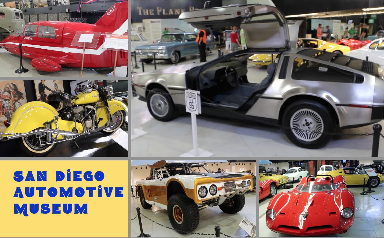 San Diego Natural History Museum San Diego, San Diego Automotive Museum - review by Posh Journal - YouTube