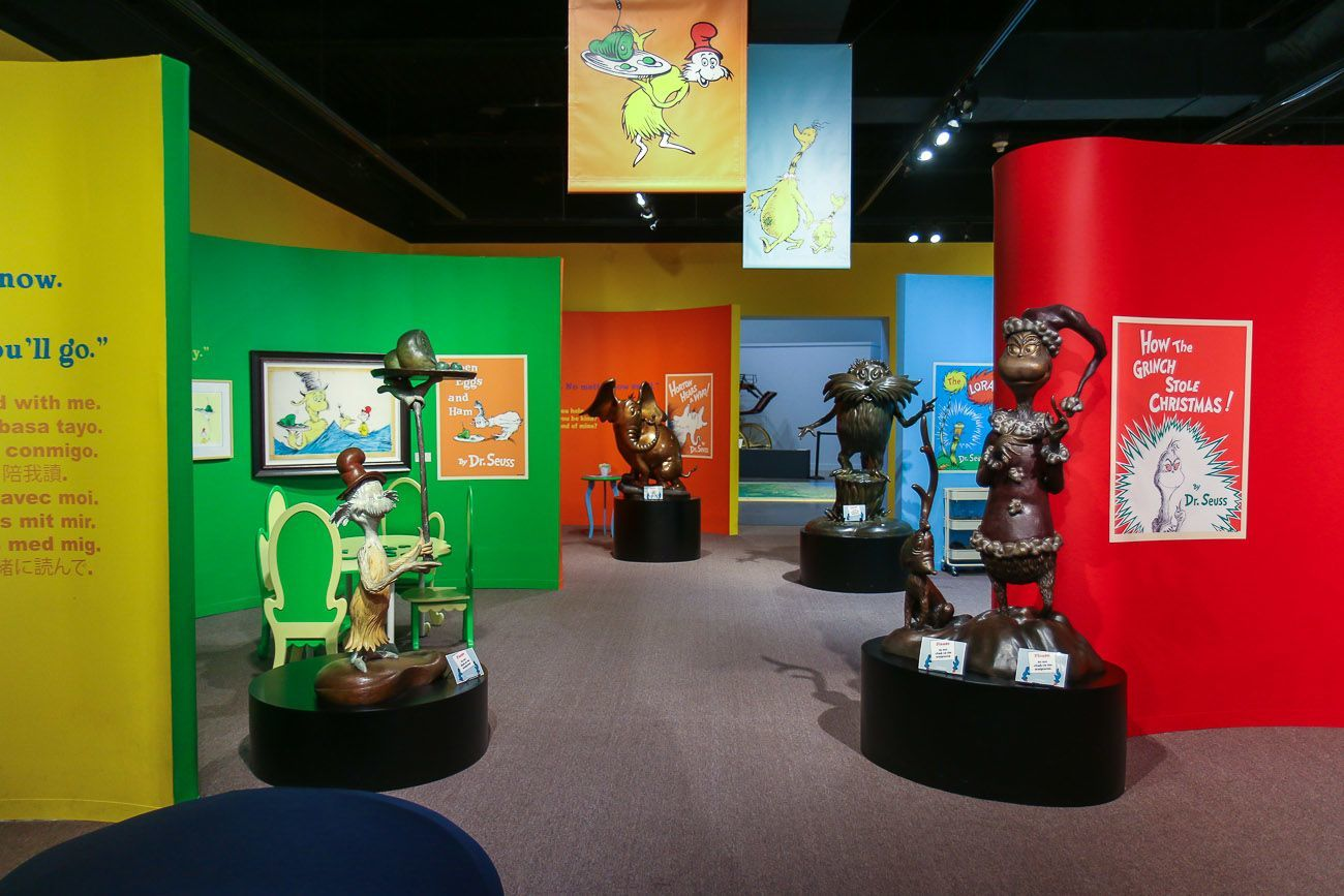 San Diego Zoo San Diego, See the Dr. Seuss Exhibit at the San Diego History Center - La ...
