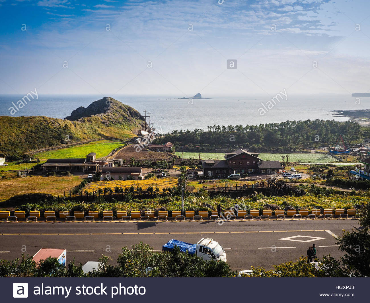 Sanbanggul-sa Sagye, Jeju Island, KOREA - NOVEMBER 12: The tourist visited Sanbanggulsa ...