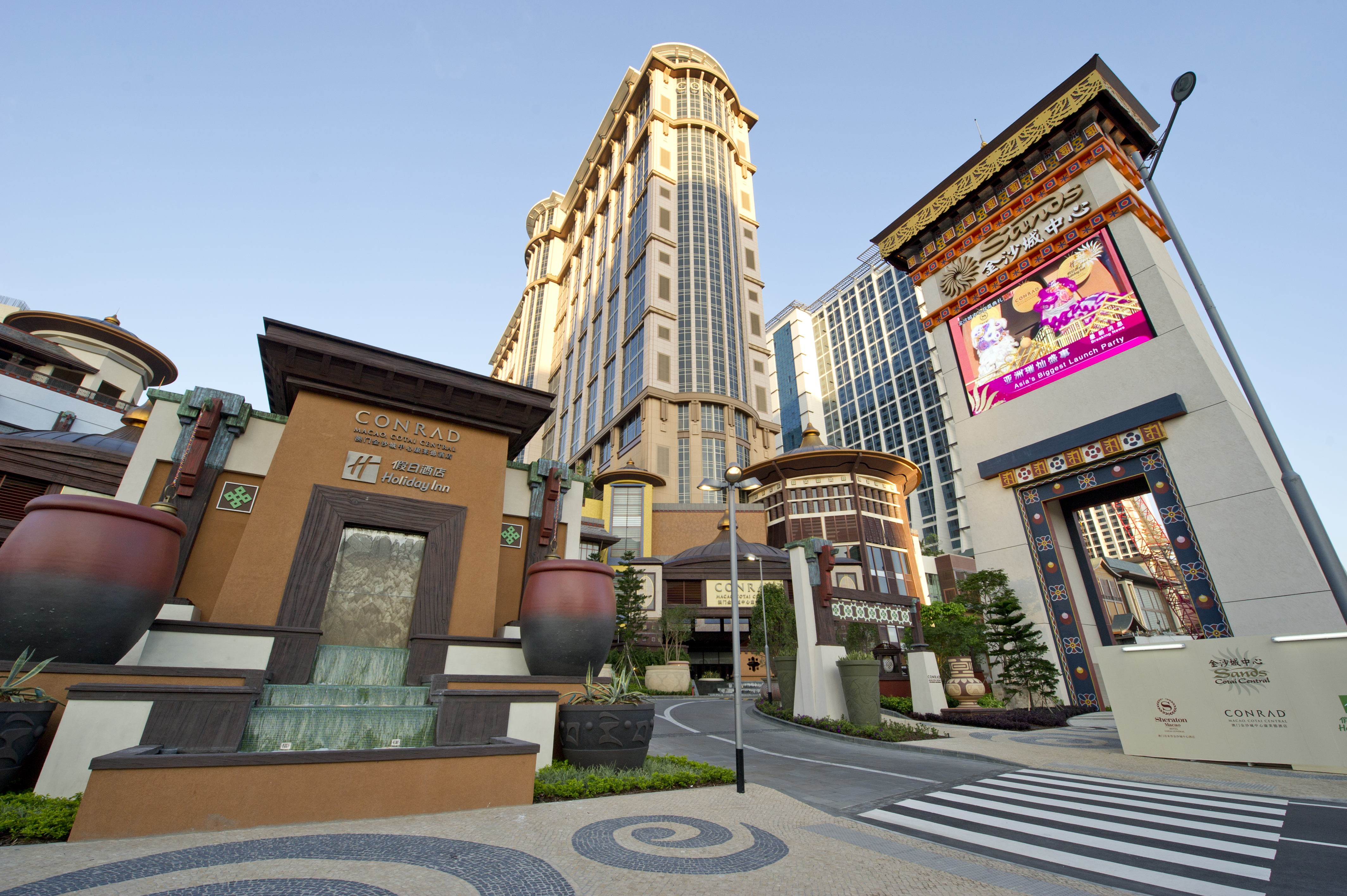 Sands Cotai Central Macau, Hsin Chong Group Holdings Limited - What's New