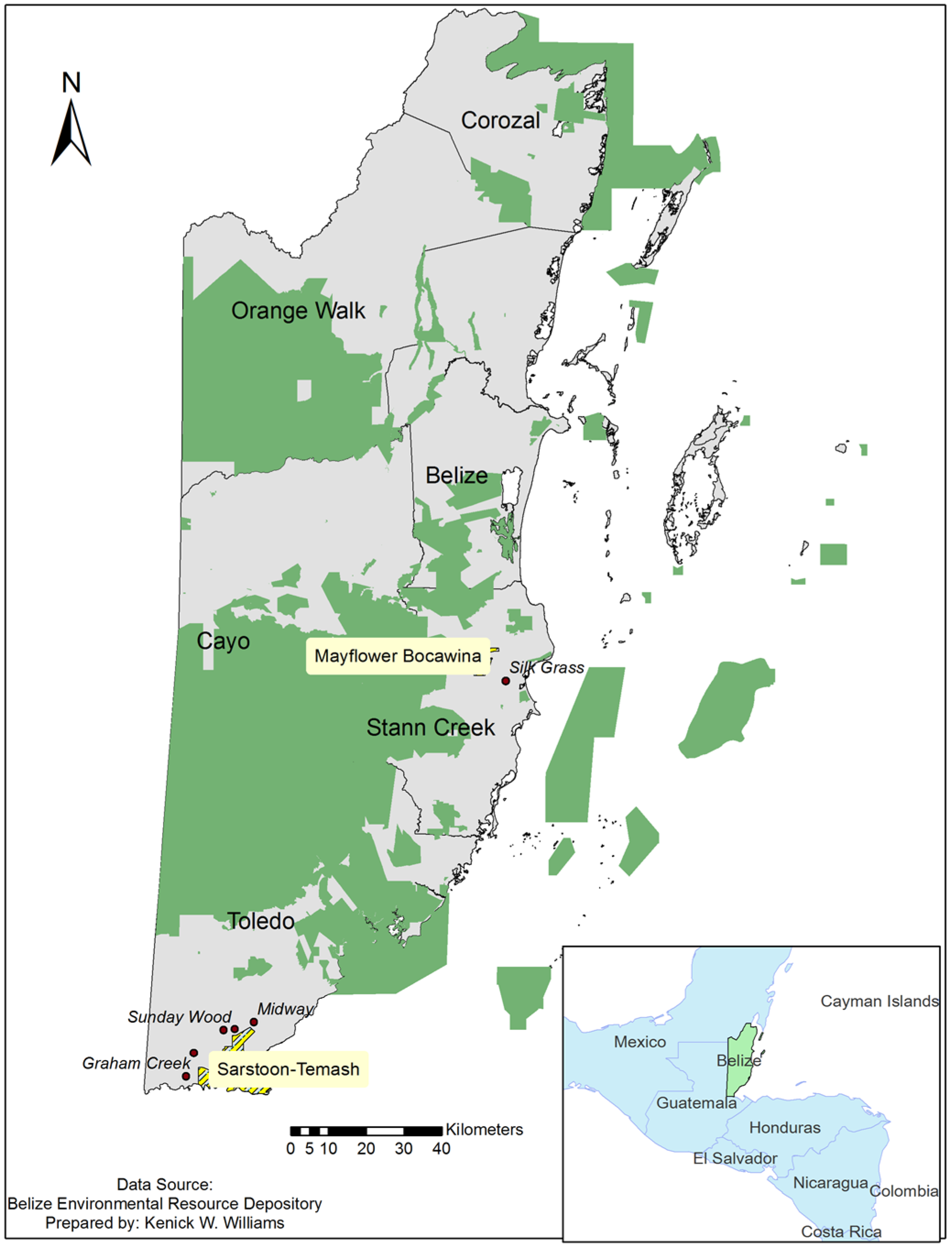 Sarstoon-Temash National Park The Deep South, Sustainability | Free Full-Text | A Multi-Tier Social-Ecological ...