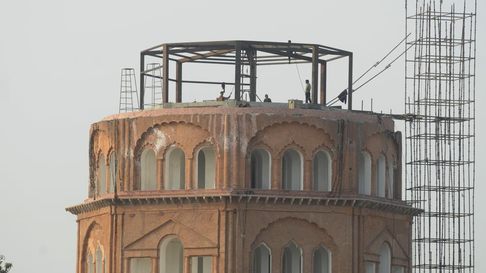 Satkhanda Lucknow, A new lease of life: Satkhanda getting ready as a must-see tower ...