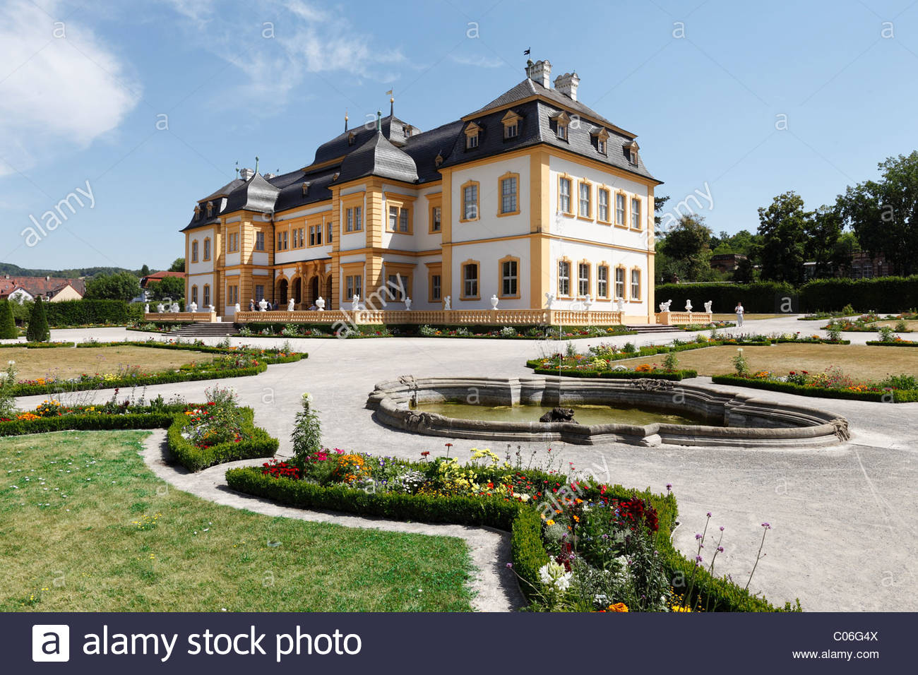 Schloss Ehrenburg Franconia and the German Danube, Glienicke Castle Stock Photos & Glienicke Castle Stock Images - Alamy
