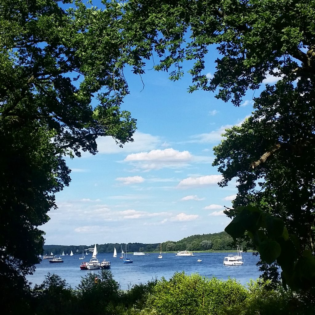 Schloss Glienicke Wannsee, Me walking on Berlin's Pfaueninsel and the footsteps of the castle ...