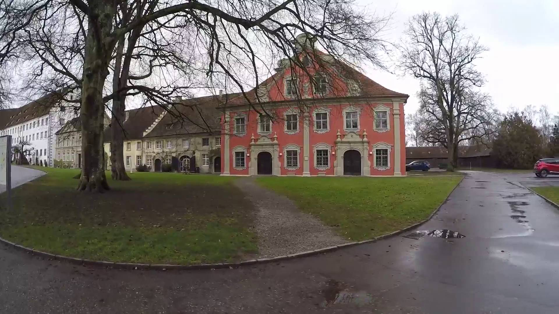 Schloss Salem The Bodensee, STREET VIEW: Schloß Salem am Bodensee in GERMANY - YouTube