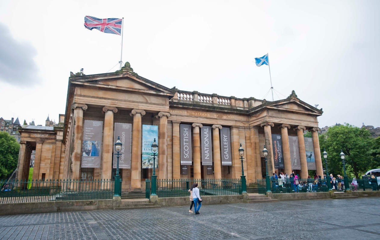 Scottish National Gallery Edinburgh, Gareth Hoskins win £9m Scottish National Gallery comp : May 2014 ...