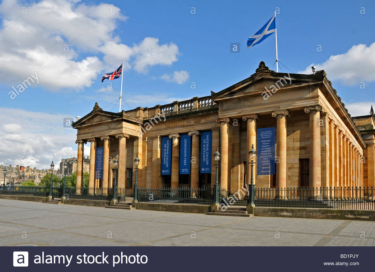 Scottish National Gallery Edinburgh, edinburgh the scottish national gallery art gallery scotland Stock ...