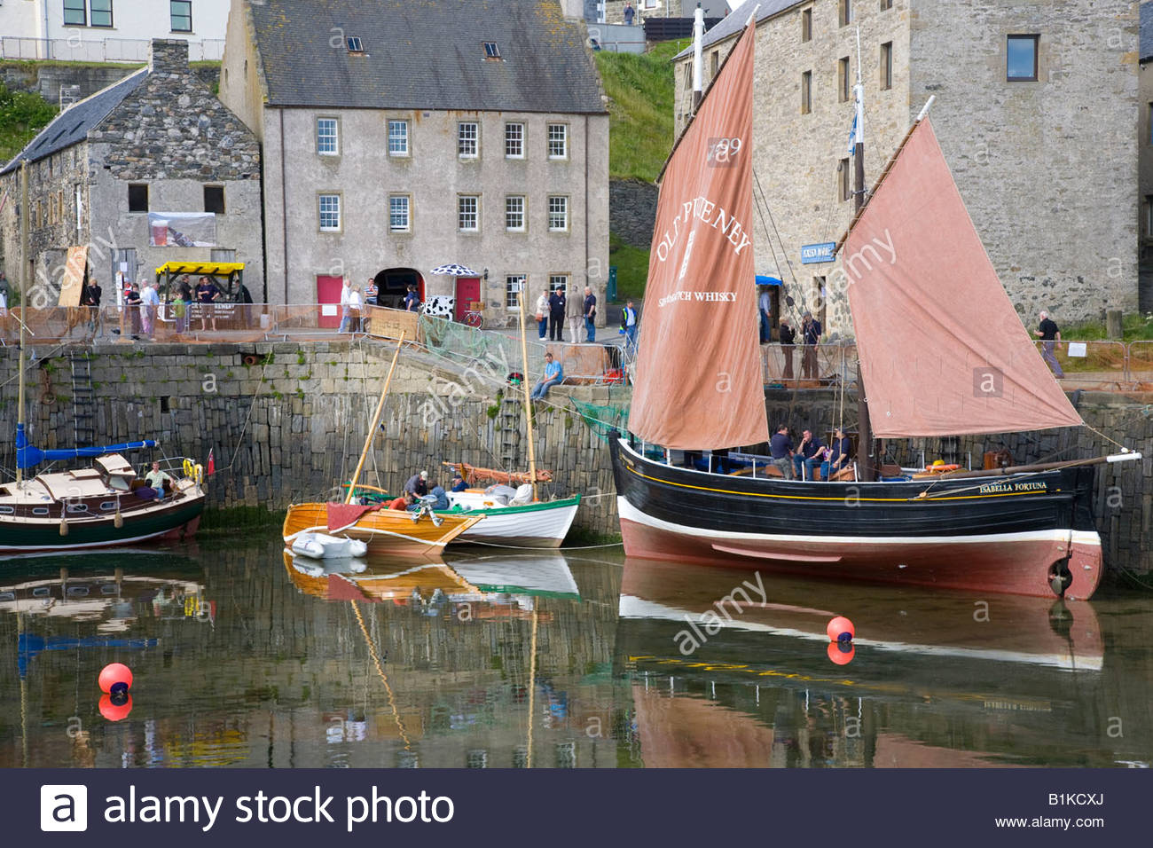 Scottish Traditional Boat Festival Aberdeen and the Northeast, Old PulteneyIsabella Fortuna at Portsoy annual 14th Scottish Stock ...