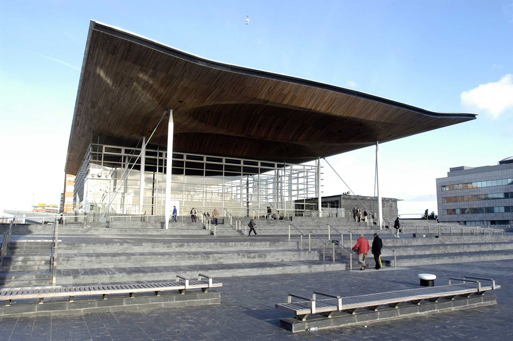 Senedd Cardiff, Senedd - Welsh National Assembly with Disabled Access - Euan's Guide
