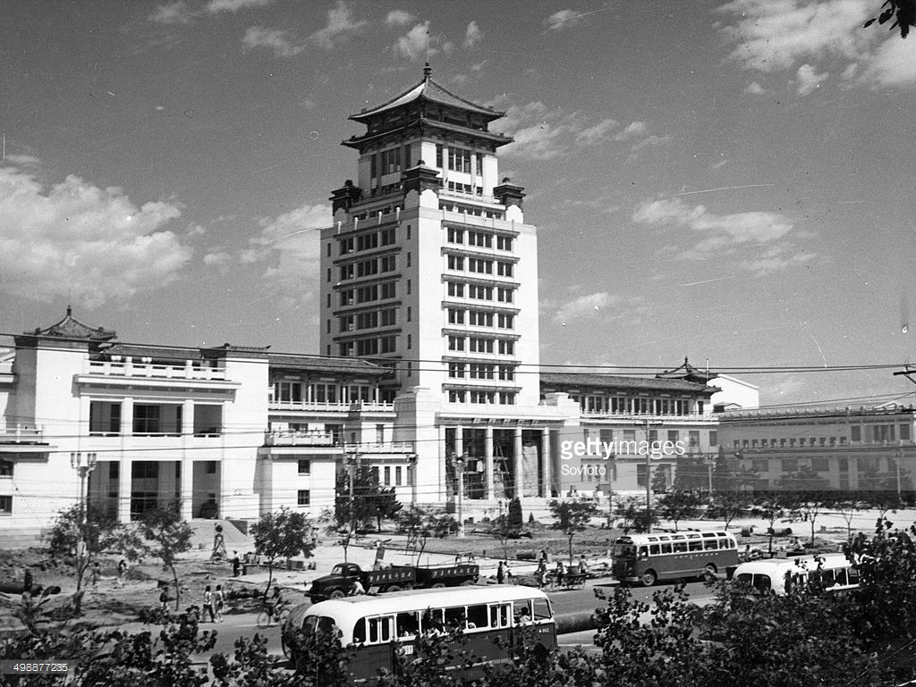 Shèng Xī Fú Hat Museum Běijīng, The newly-built Cultural Palace of Nationalities in Peking ...