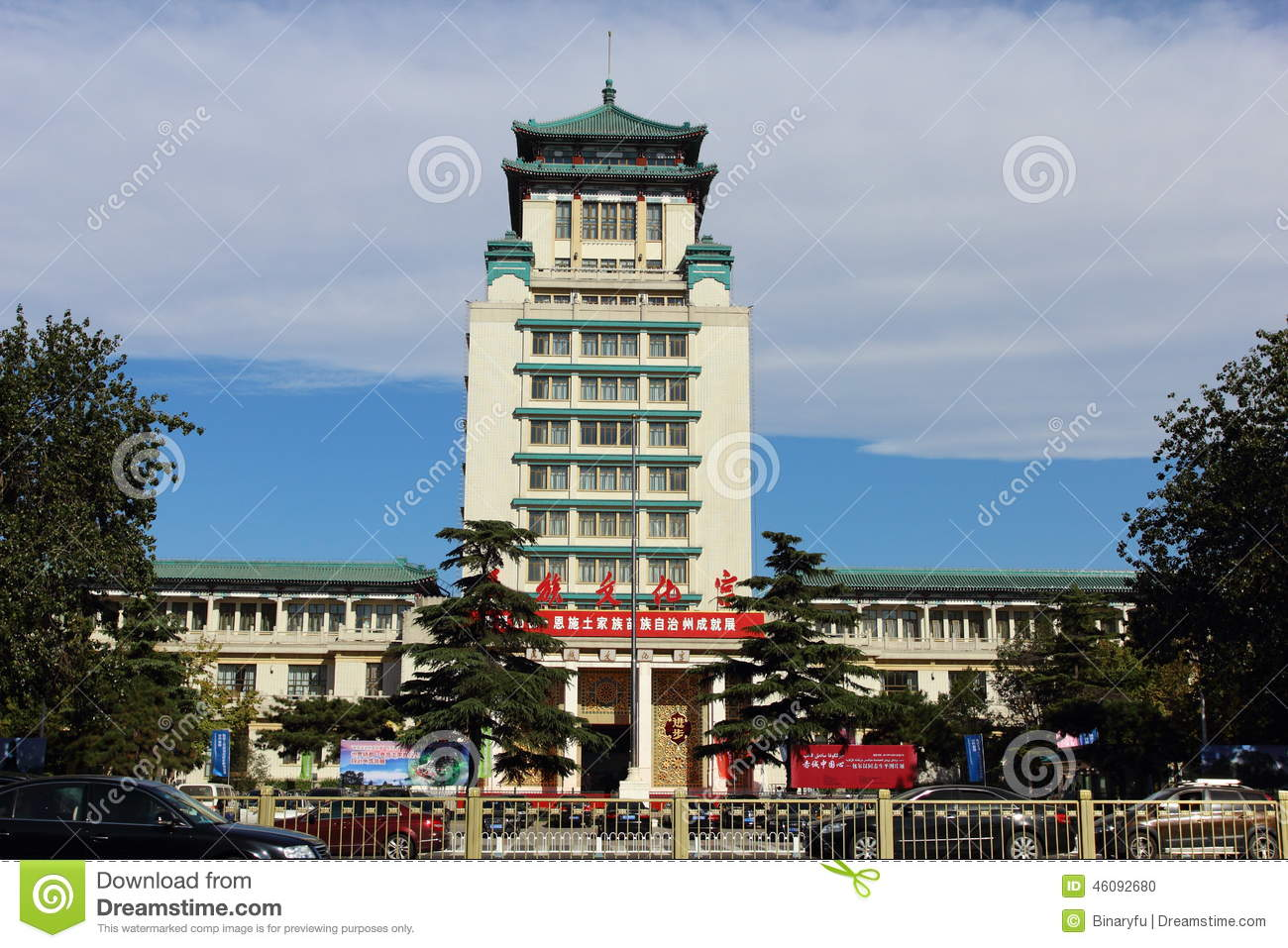 Shèng Xī Fú Hat Museum Běijīng, The Cultural Palace For Nationalities Editorial Image - Image ...