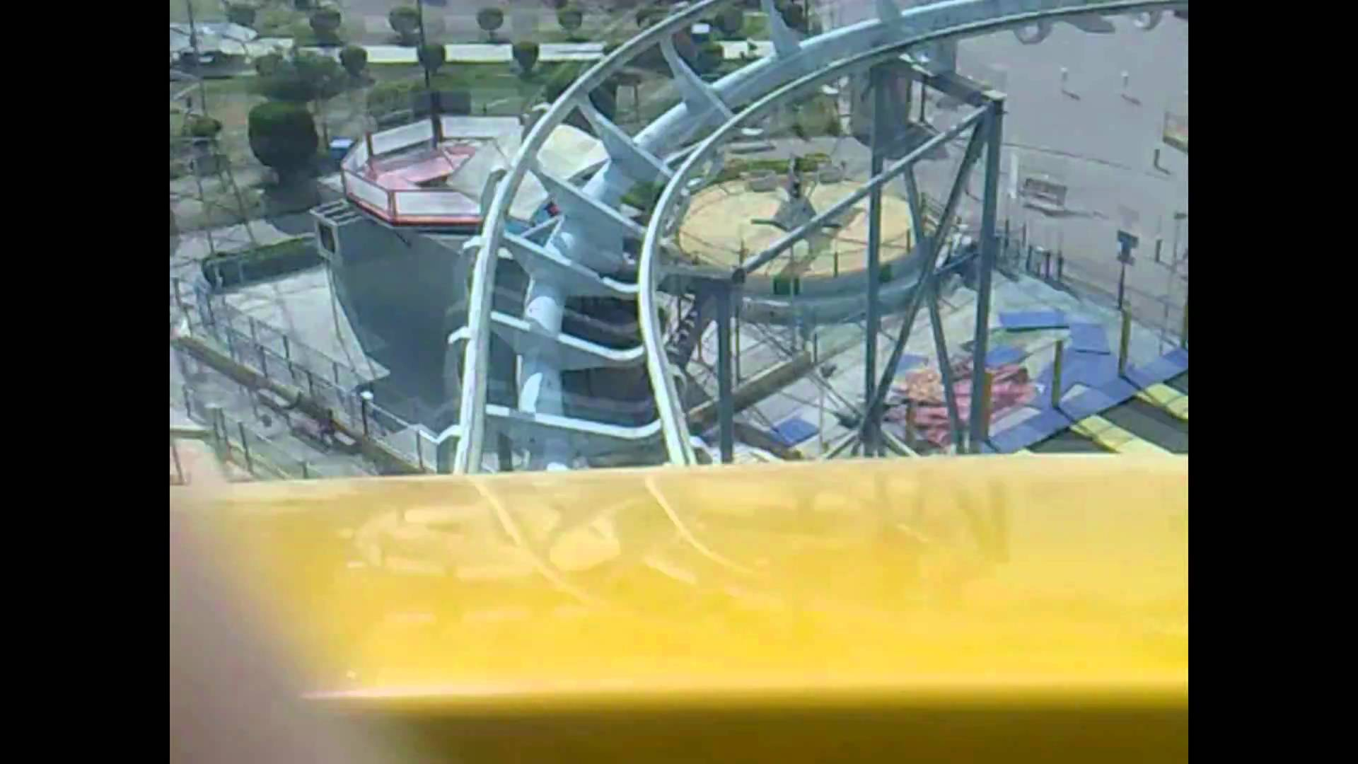 Shaab Leisure Park Kuwait City, Roller Coaster at Sha3b leisure park, Kuwait - YouTube
