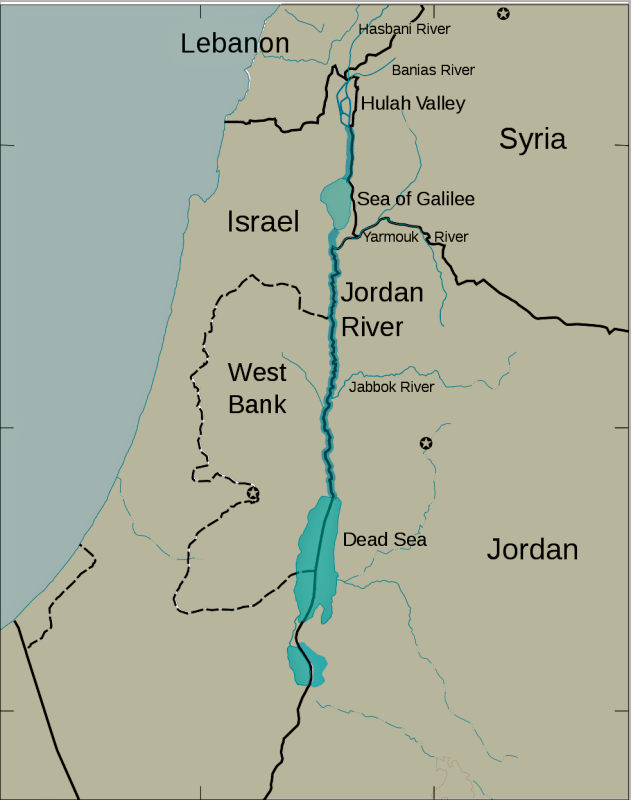 Shepherds' Fields Around Jerusalem and the Dead Sea, Jordan River « See The Holy Land