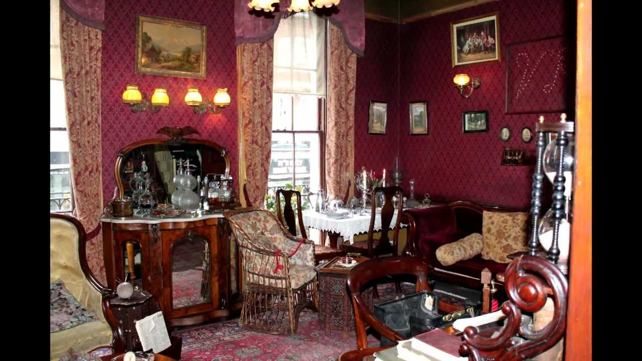 Sherlock Holmes Museum London, A walk through the Sherlock Holmes Museum - YouTube