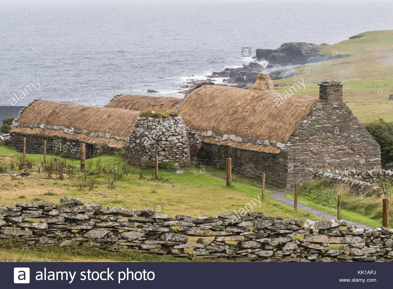 Shetland Croft House Museum Orkney and Shetland Islands, Crofthouse Stock Photos & Crofthouse Stock Images - Alamy