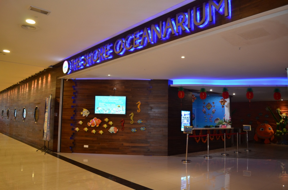 Shore Oceanarium Melaka City, The Shore Oceanarium