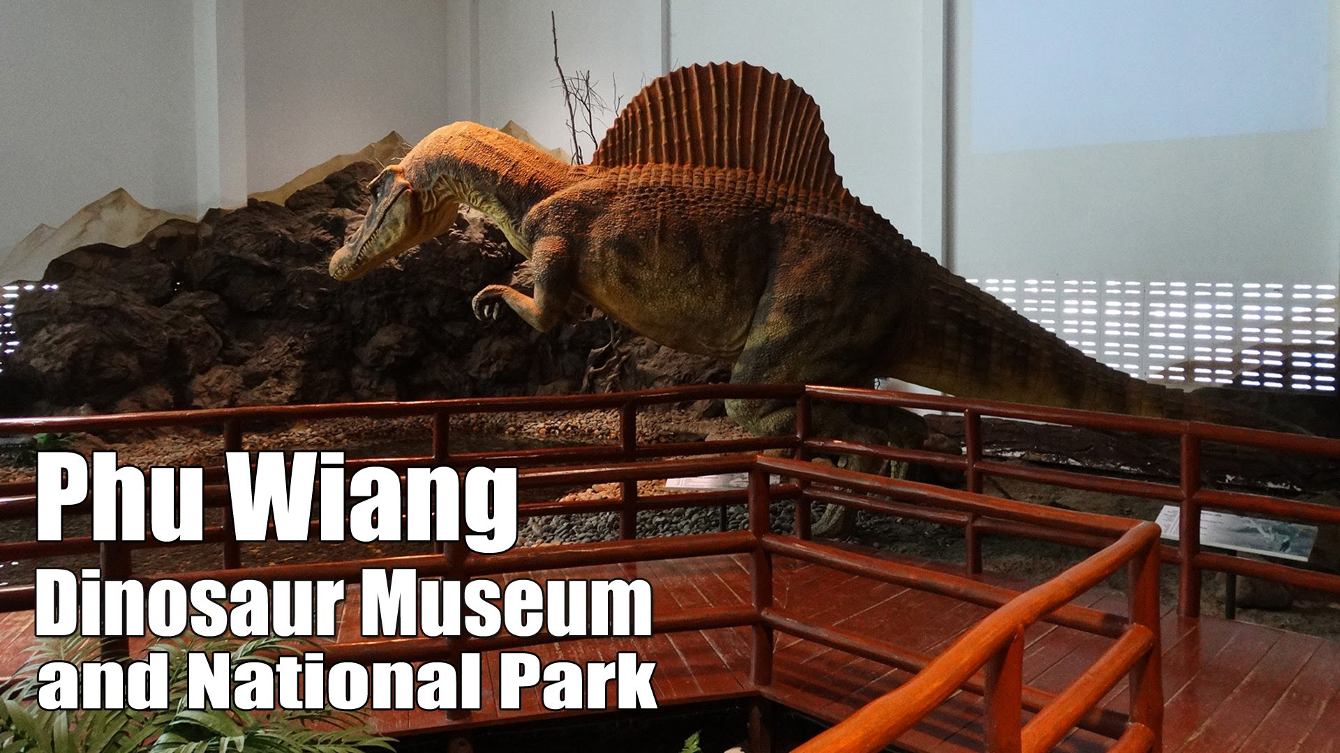Si Wiang Dinosaur Park Phu Wiang National Park, Phu Wiang Dinosaur Museum in the Phu Wiang national park, west of ...