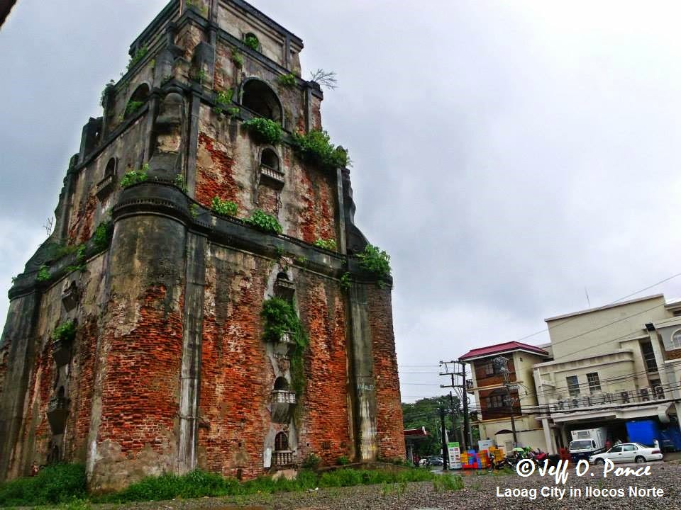 Sinking Bell Tower Laoag, Bisayang Manlalakbay around the Philippines: A Sinking Bell Tower ...