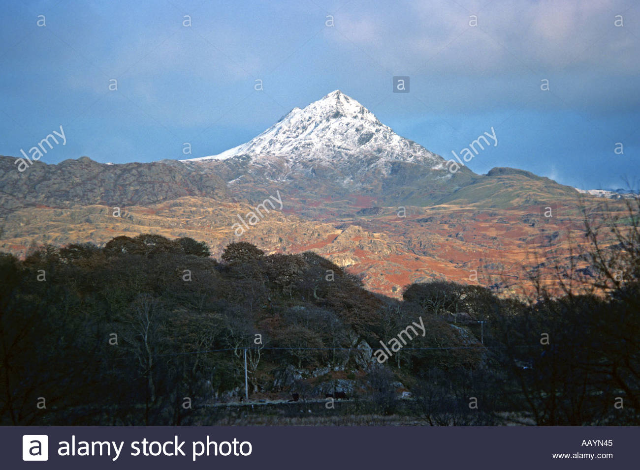 Snowdonia National Park North Wales, Cnicht mountain Snowdonia National Park North Wales JMH0761 Stock ...